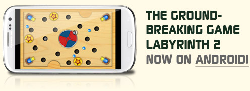 The groundbreaking game labyrinth now on Android
